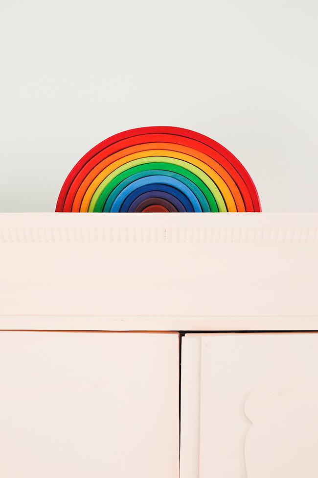 Regenboog kast PS
